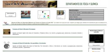 Departamento de Física y Química del IES Leonardo Da Vinci