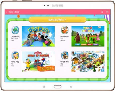 Uso seguro de las tabletas con el Modo Niños de Samsung