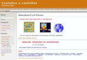 25 blogs de Matemáticas para Primaria 8