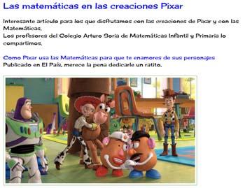 Matemáticas Educación Infantil y Primaria, del colegio Arturo Soria