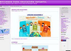 Blogs con recursos para Infantil 4