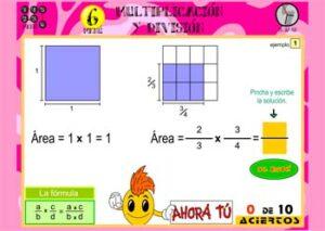 Recursos para estudiar y practicar las fracciones 1