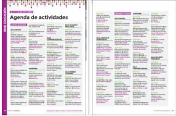 Agenda actividades SIMO Educación