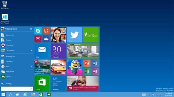Así será Windows 10 1