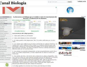 canal biología actividades para bachillerato