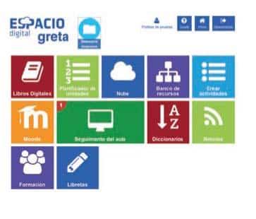 Espacio Digital Greta, un entorno para el aprendizaje virtual integrado 1