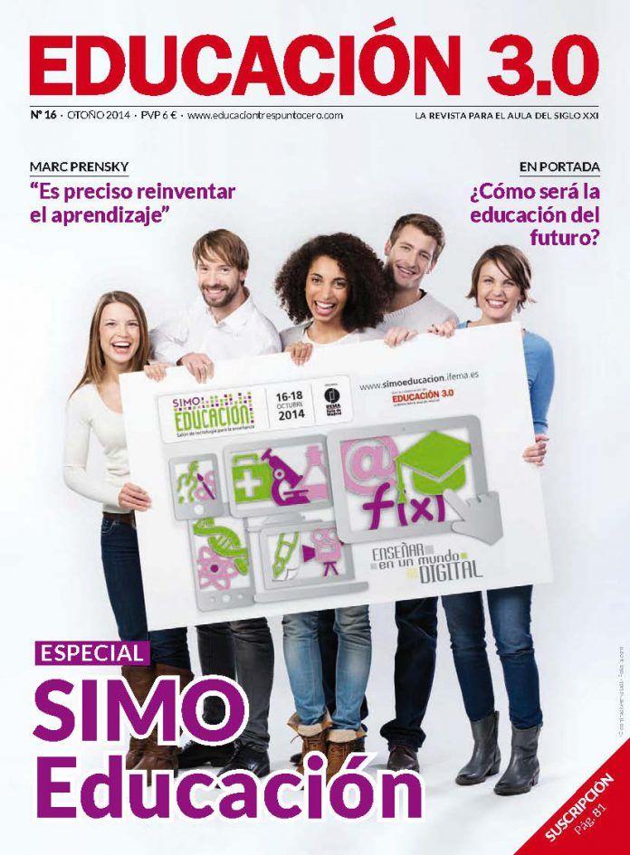 ¡Número 16 de la revista Educación 3.0 y versión digital reducida! 1