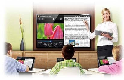 Samsung muestra su entorno de aprendizaje interactivo en SIMO Educación 1
