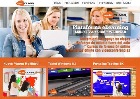 Soluciones para el aula digital de multiCLASS