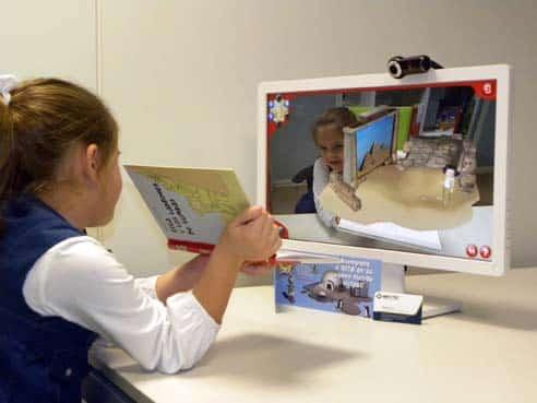 Realidad aumentada en el aula... ¡una realidad diferente!