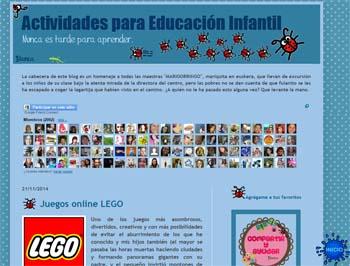 activiades para educación infantil