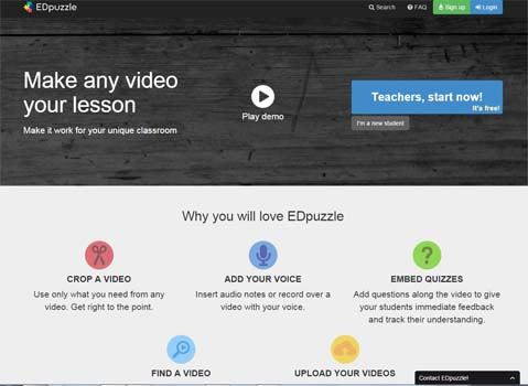 edpuzzle: Apps flipped classroom