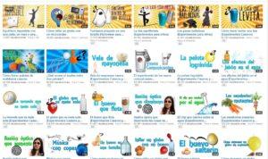 20 canales de vídeo para hacer experimentos 1