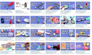 20 canales de vídeo para hacer experimentos 2