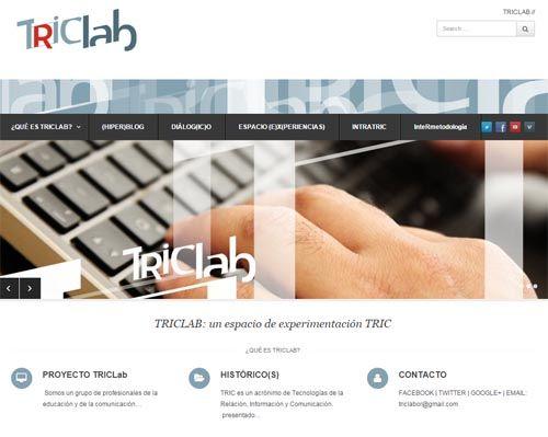 Proyecto TRICLAB, el laboratorio colaborativo de experiencias educomunicativas 2