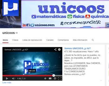 Unicoos, un portal de vídeos gratuitos