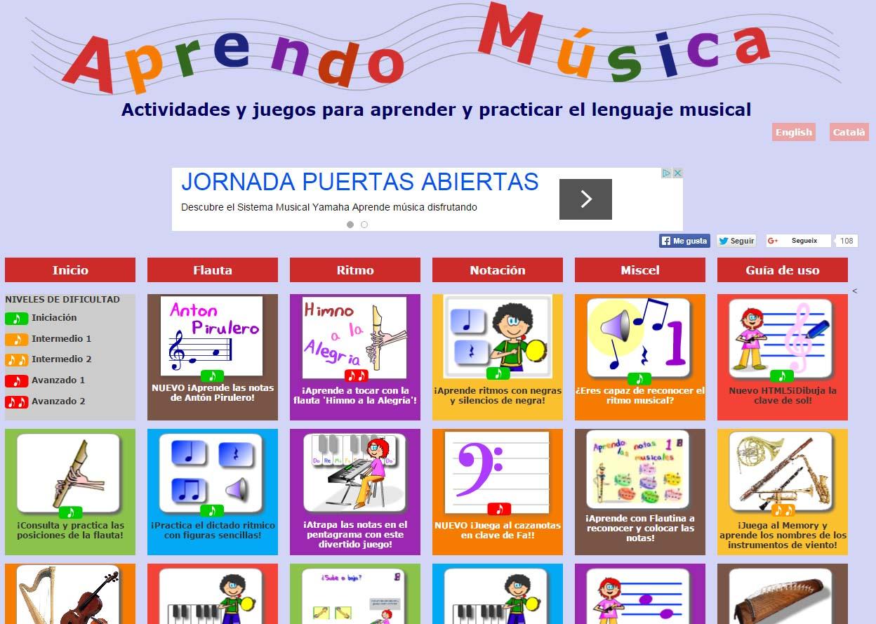 Los mejores BLOGS de música para el aula de Primaria