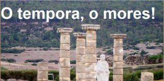 Blog O tempora, o mores!
