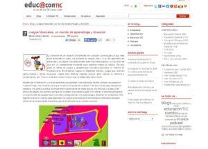 Blogs de música para el aula de Primaria 13