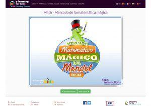 MERCADO DE LA MATEMÁTICA MÁGICA