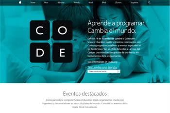 Talleres gratuitos de Apple para que los alumnos aprendan a programar