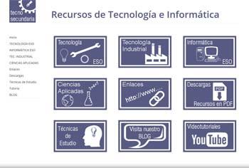 Tecno-Secundaria: recursos de Tecnología e Informática