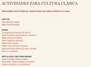 10 blogs para estudiar Cultura Clásica 4