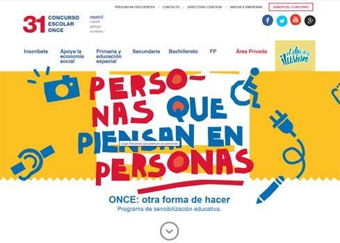 'Personas que piensan en personas', el concurso educativo de LA ONCE