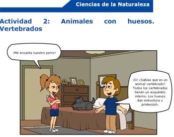 Ciencias de la Naturaleza: los animales