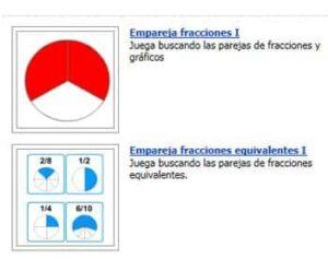 Fracciones en Educaplus