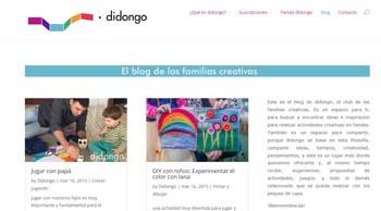 Didongo: el blog de las familias creativas