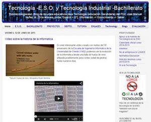 Blogs de Tecnología para Secundaria 8