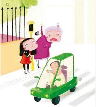 Julia, Pato y el espía - educación vial para niños