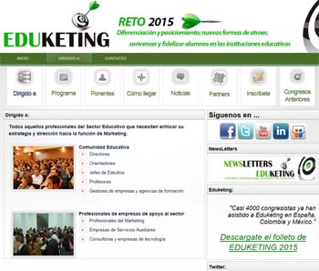 Eduketing 2015, nueva cita con el marketing educativo 2
