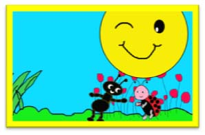 la hormiga amarilla