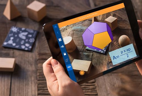 Geometry, una app para estudiar poliedros con Realidad Aumentada 2