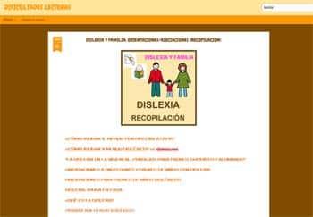 Dificultades lectoras - blogs la sobre dislexia