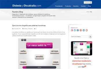 blogs la sobre dislexia-Discalculia.com