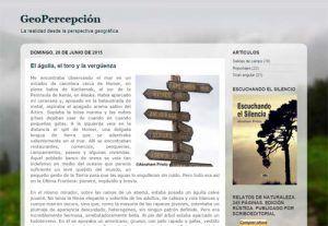 Blogs para la asignatura de Geografía en ESO y Bachillerato 11