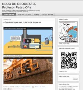 Blogs para la asignatura de Geografía en ESO y Bachillerato 14