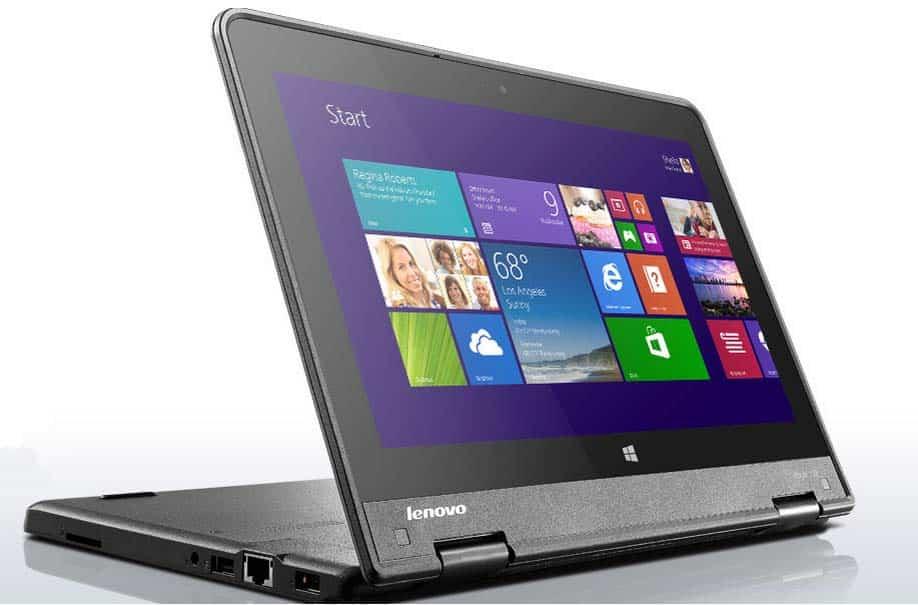 Portátiles resistentes con software educativo de Lenovo
