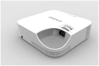 Proyección ecológica con Casio XJ-V1