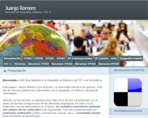 Blog de Geografía, Historia y TICs