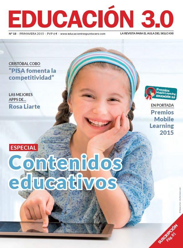 Nº 18 Revista Educación 3.0 y versión digital reducida 4