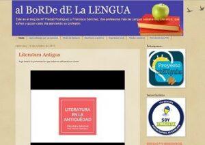 Blogs de Lengua castellana y literatura para ESO y Bachillerato 6