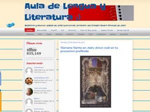 aula de lengua y literatura