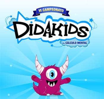 VI Campeonato de Cálculo Mental de Didakids para alumnos de Primaria 1