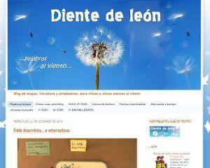Blogs de Lengua castellana y literatura para ESO y Bachillerato 8