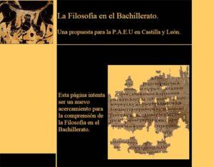 30 recursos para la asignatura de Filosofía en Bachillerato 11