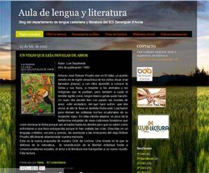 Blogs de Lengua castellana y literatura para ESO y Bachillerato 4